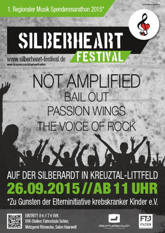Silberheart Festival 2015_Plakat Veranstalter