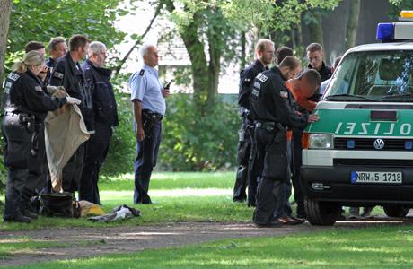Taschendiebstahl-Razzia-Polizei