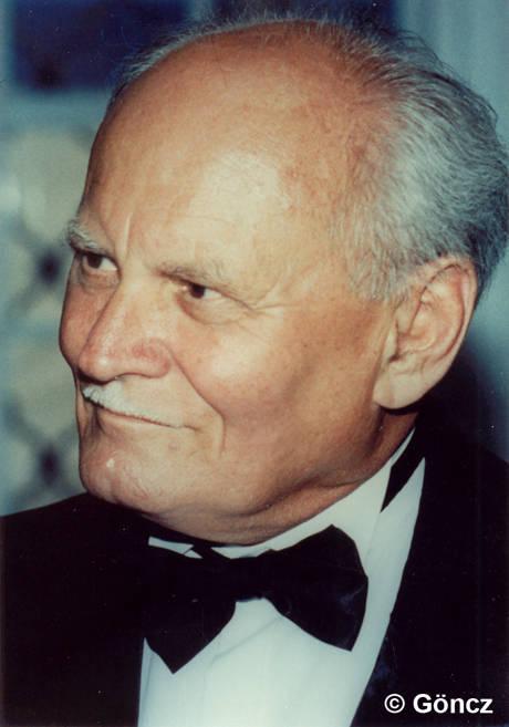 Der ehemalige ungarische Staatspräsident Árpád Göncz