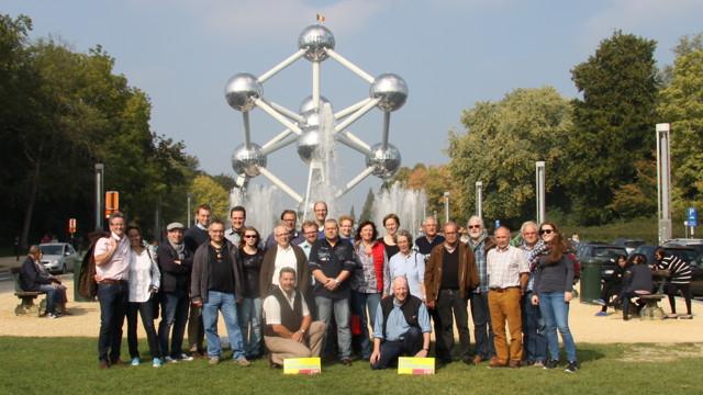 Im Rahmen einer Seminarreise besuchten die Freien Demokraten Siegen-Wittgenstein kürzlich auch das Atomium in Brüssel (Belgien) (Foto: Peter Hanke)