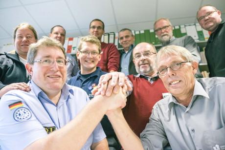 Das Team des Projekts UniKAT. (Foto: Uni)