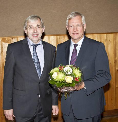 Der CDU-Bezirksvorsitzende Klaus Kaiser MdL (l.) mit Eckard Uhlenberg (r.) (Foto: CDU)
