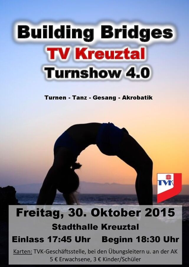2015-10-23_Kreuztal_Turnshow des Tv Kreuztal2015_Plakat_Verein