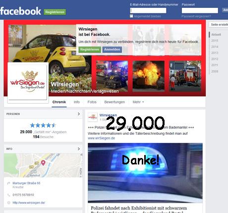 FacebookwirSiegen