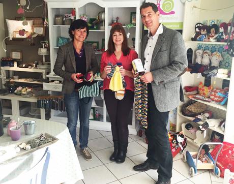 Ogorek Vorsitzende des Fördervereins, Schirmherrin Annette Plachner, Jens Kamieth MdL CDU- Stadtverbandsvorsitzender. (Foto: privat)
