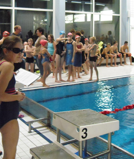 Wieder mehr als 200 Starts bei Schwimmwettkämpfen des Turnbezirk Nord. (Foto: Erich Neuhaus)