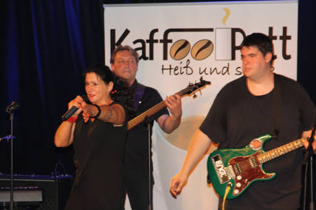 Kaffeepott spielen am 21.November im Casablanca. (Foto: Band)
