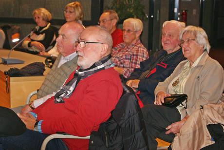 Die Veranstaltung fand reges Interesse beim Publikum.