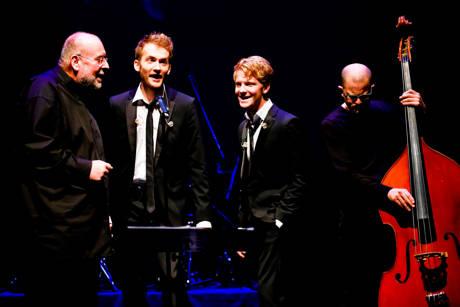 v.l.: Jan Vering, Max Falk, Paul Falk, Christoph Terbuyken (Foto: René Achenbach)