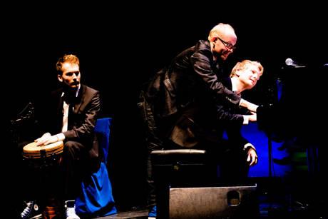 v. l..: Max, Dieter und Paul Falk (Foto: René Achenbach)