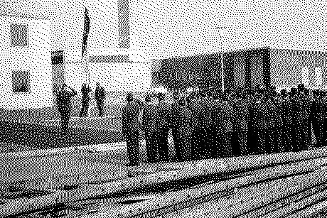 Die erste Flaggenparade am Luftwaffenstandort jährt sich im kommenden Jahr zum 50sten mal. Foto: Luftwaffe (1966)