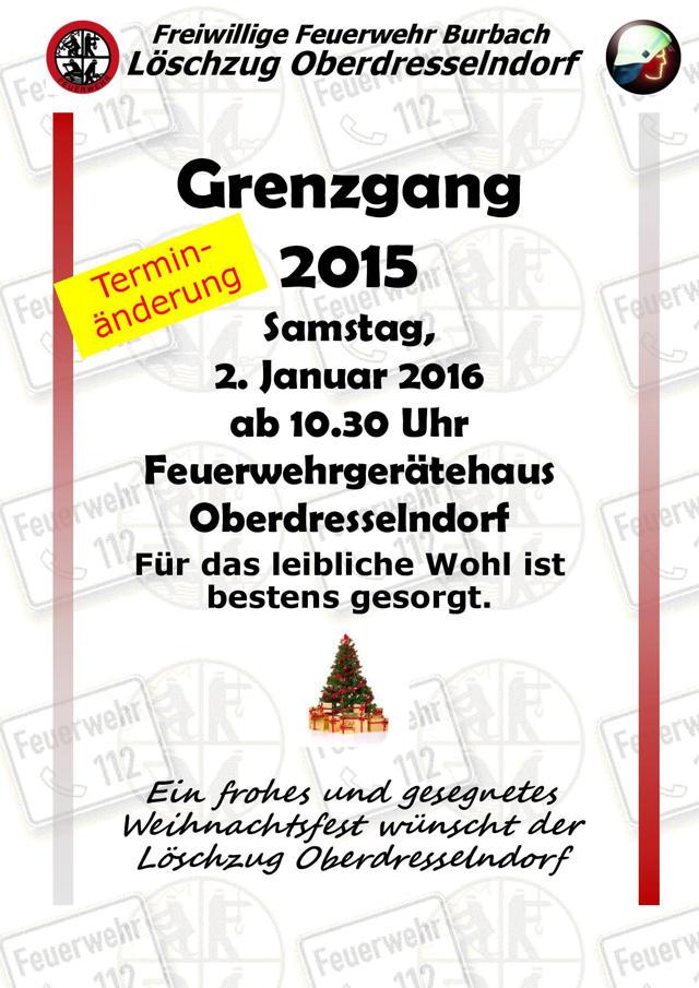 2015-12-03_Oberdresselndorf_Grenzgang Plakat_Plakat_Feuerwehr