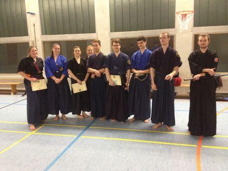 Erfolgreiche Battojutsu-Prüfungen in Siegen