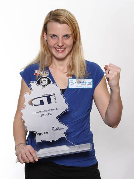 Ina Kaplan - Siegerin des German Tour Finals der Damen (Foto: Stefan Schmidt / Touch Billard Magazin)
