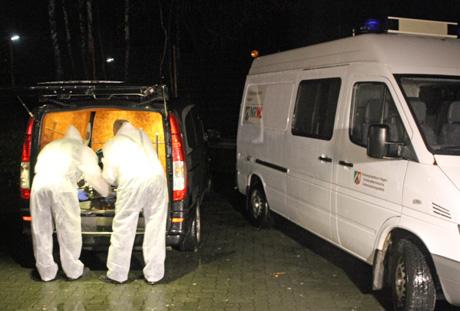 In der Tatnacht war die Mordkommission Hagen vor Ort...