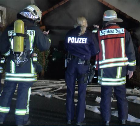 Feuer-Polizei-Krombach