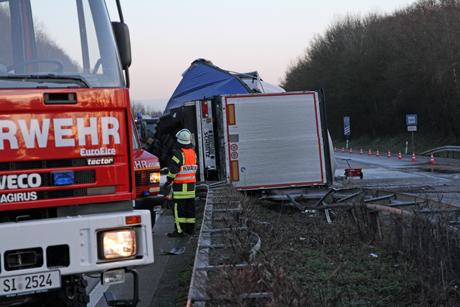 LKW-Unfall-A45-Freudenberg3