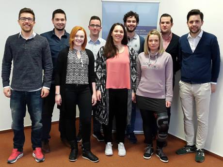 """""""In den nächsten zwei Jahren wollen wir Akzente setzen!"""", so der neue Vorstand der Jungen Union Kreuztal. (Foto: JU)"""