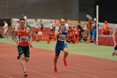 60 Meter Endlauf mit Christian Lück