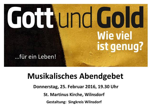 2016-02-19_Wilnsdorf_Musikalisches Abendgebet in der Fastenzeit_Plakat_Singkreis Wilnsdorf