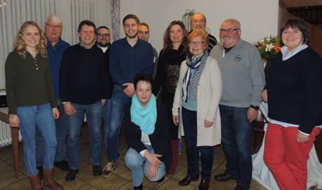 Der Vorstand der Kreuztaler SPD