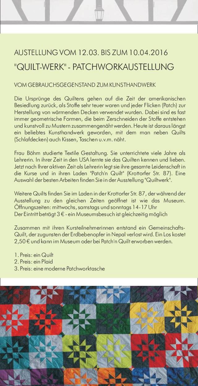 2016-03-08_Freudenberg_4Fachwerk-Museum präsentiert die Ausstellung Quilt-Werk_Flyer_Veranstalter_03