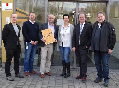 Die vorweihnachtliche CDU Weckenmänner-Aktion wieder erfolgreich. (Foto: CDU)