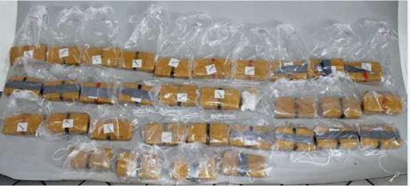 Die Rauschgiftfahnder der Kreispolizeibehörde stellten 16 Kilo Heroin sicher. Foto: Polizei