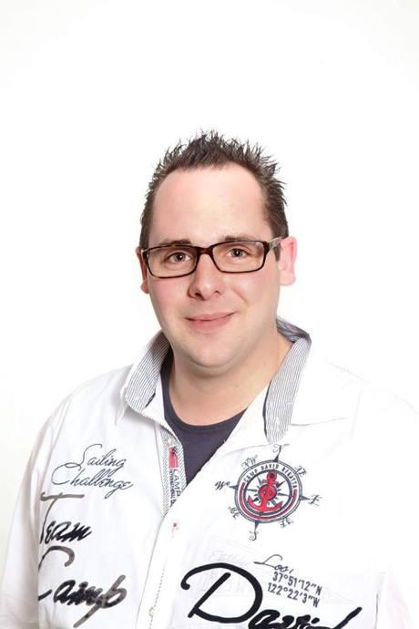 """Christian Giesler, bekannt als """"DJ Chris"""". Foto: Ralph Bisdorf"""