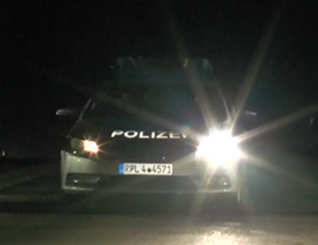 Polizei-Großeinsatz-Stegskopf