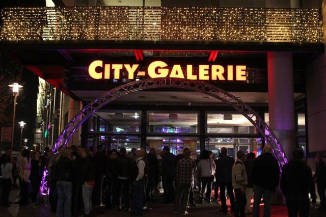 Die City-Galerie wird im April zur Partylocation umgestaltet.