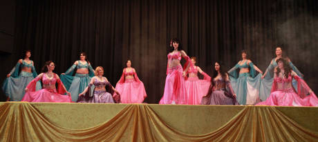 Der Eröffnungstanz der KTC-Tänzerinnen. Foto: André Elbing/Verein