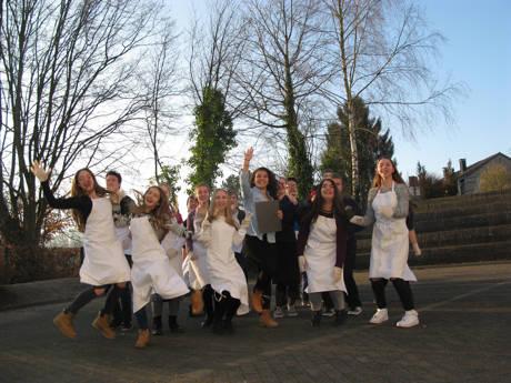 Die Schülerinnen und Schüler der NaschwerkeSG. (Foto: KM:SI)