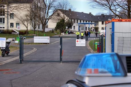 Unter anderem auch nach Burbach wurden die Flüchtlinge zur Stellung des Asylantrages gebracht. Fotos (2): Hercher/wirSiegen.de