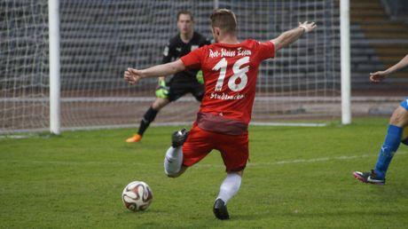 RWE-Spieler Marwin Studtrucker vergab die besten Chancen.