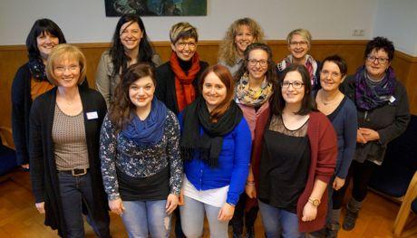 Das Projektteam im Seniorenzentrum St. Gerhardus Drolshagen. Fotos (2): Universität