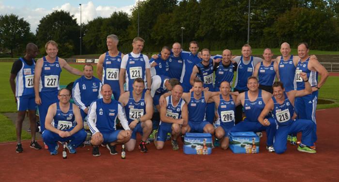 Die Senioren der LG Kindelsberg Kreuztal wollen sich mit drei Teams für die Deutschen-Mannschaftsmeisterschaften qualifizieren. (Foto: Verein)