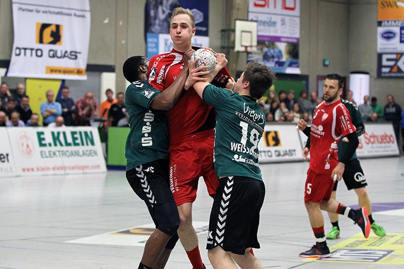 Florian Baumgärtner lieferte eine starke Partie ab.