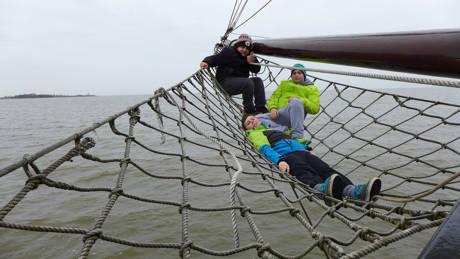 Segeltörn mit 20 Siegener Jugendlichen auf dem Ijsselmeer. (Foto: Stadt Siegen)