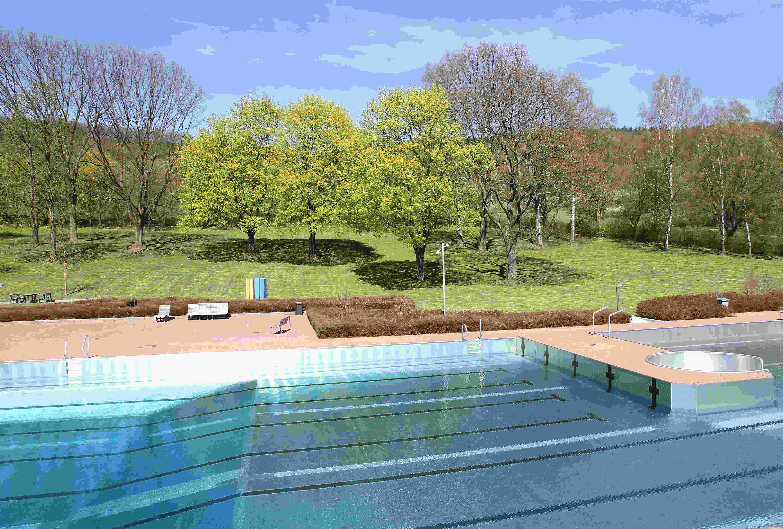 Das Freibad in Kaan-Marienborn zählte letztes Jahr 18.000 Badegäste.