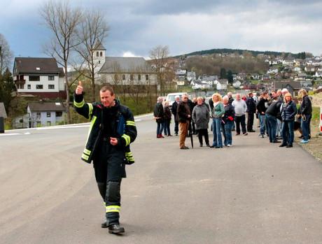 Feuerwehrübung-Niederschelden-Siegen