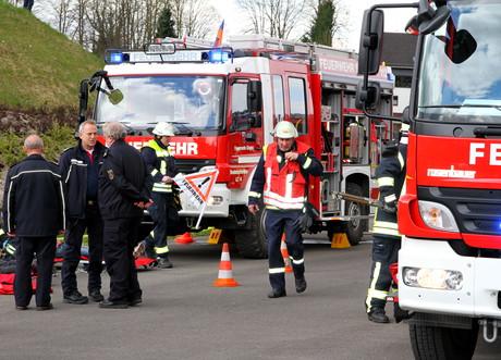 Feuerwehrübung-Siegen