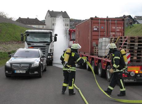 FeuerwehrübungSiegen