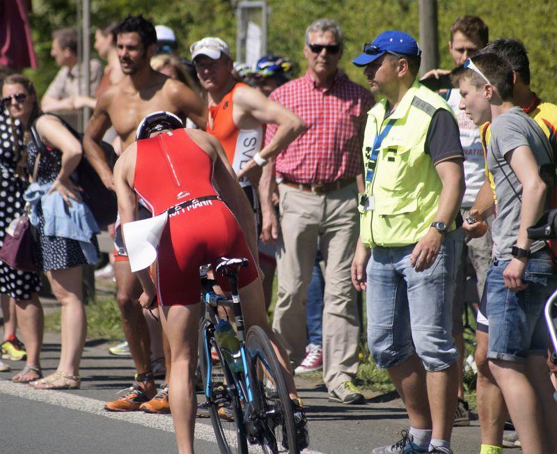 Der Sattel an seinem Bike bereitete Jonas Hoffmann Probleme.