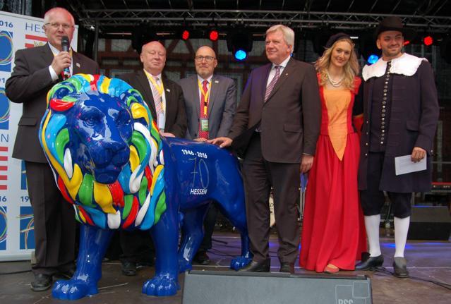 Feierliche Eröffnung des Hessentags in Herborn durch Ministerpräsident Bouffier. (Fotos: J.Fritsch)