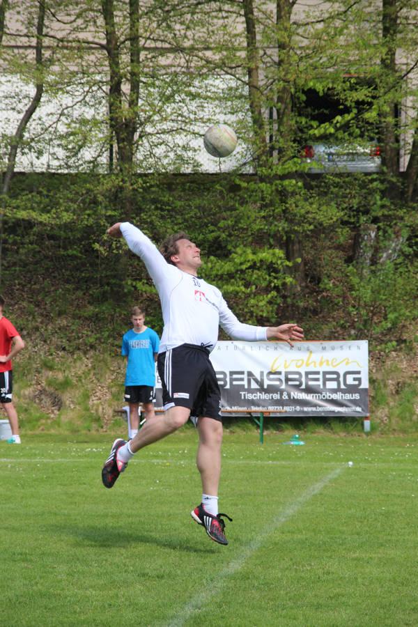 Angreifer Oliver Klingebiel, der großen Anteil am Sieg des Bundesliga-Teams hatte. Fotos: Verein