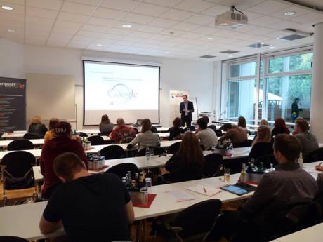 Die GründerAKADEMIE bietet immer wieder interessante und gern angenommene Vortrags- und Seminarthemen für die Gründer in der Region an. (Foto: Startpunkt57)