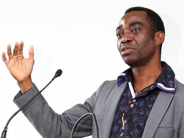In seinem Vortrag zeigte Dr. Mabanza die Auswirkungen von Freihandelsabkommen auf Afrika auf. (Fotos: Berufskolleg)