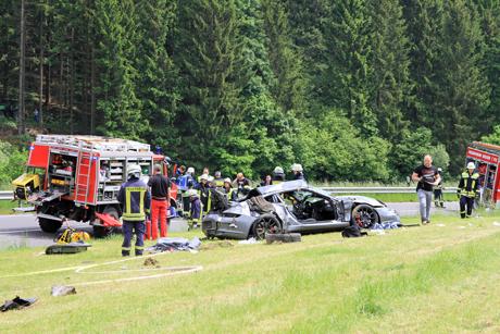 Porsche-Crash-Freudenberg