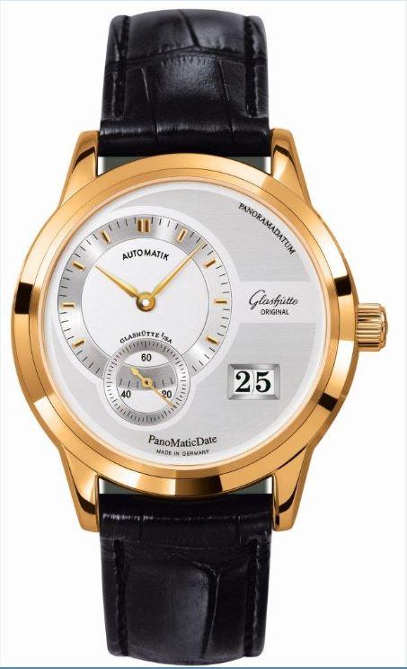 "Gestohlene Uhr ""Glashütte Pano Matic Date"" (Symbolfoto)"